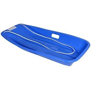 Luge en plastique Bleu Grand Toboggan avec corde Jouet d'extérieur 6 ans