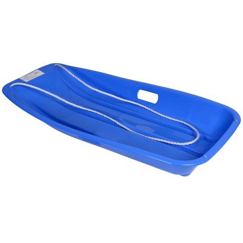 Kandy toys - bob da neve, misura grande, con corda, da 6 anni in su, colore: blu