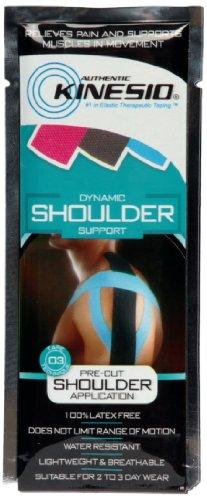 Kinesio Tape Schulter (Kinesio Vorgeschnittenes Untersttzungsband fr die Schulter, trkis, KIN/003)