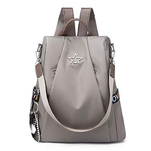 VJGOAL Damen Rucksack, Frauen Mädchen Diebstahlsicherung Rucksack Persönlichkeit Mode Wild Hohe Kapazität Oxford Tuch Rucksack -