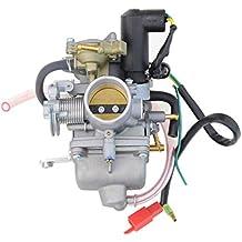 GOOFIT Carburador Moto, 30mm PZ30 con Electrónico de Acelerador 4 Tiempos Pit Bike Cross para