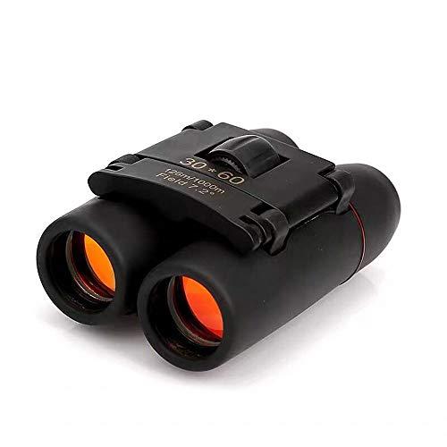 LZRDZSW Pocket Zoom Mini-Fernglas, Roter Film Hochauflösender Low-Light-Nachtsichtspiegel für Lange Distanzen beim Reisen, Outdoor, Sport und hochwertige Optik mit atemberaubender HD-Klarheit