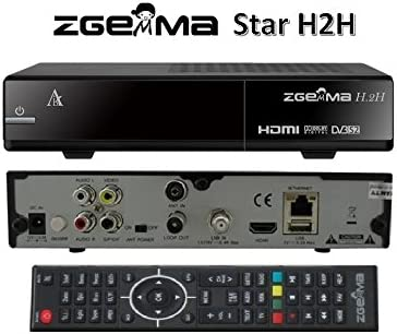 Zgemma Star H2H Combo DVB-S2+T2