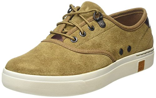 Timberland Damen Amherst Suede Ox Sneakers Braun (Sepia silk Suede)