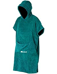 booicore V2 Heavy Duty Outdoor wechselnden Poncho Bademantel/Badetuch, türkis, Arm pit to arm pit length is approx. 85cm - Centre back neck to hem length is approx. 108cm