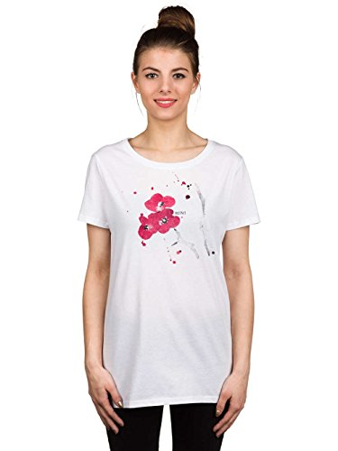 iriedaily Damen Printshirt White