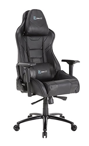 Newskill Kuraokami -  Silla Gaming Profesional (Inclinación y Altura Regulable,  reposabrazos Ajustable,  reclinable 180º),  Color Negra