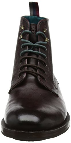 Ted Baker Dhavin - Bottes Classiques - Homme Rouge (Dark Red)