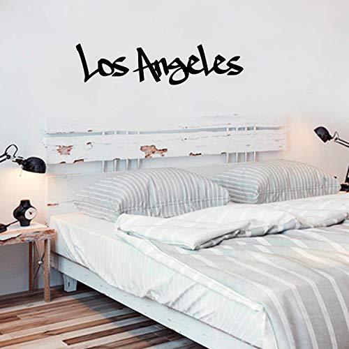 - Los Angeles, 55,9 x 152,4 cm - cooles Graffiti-Design, modernes Urban USA Land West Coast City Home Schlafzimmer Wohnzimmer Wandbild Indoor Outdoor Dekoration Kleber ()