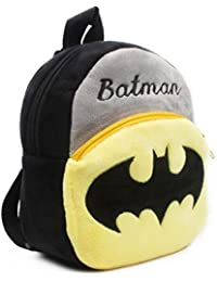 56d479a8041 Aai Girl s and Boy s Batman Design Cute Velvet Plush Cartoon Multicolour  Backpack