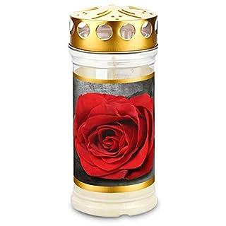 Memoriam Aeterna: Kompositionsöllicht Nr. 417 Deckel & Motiv Rose Gold (12 Stück)