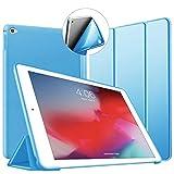 Cover iPad Mini 4, VAGHVEO Custodia Ultra Sottile e Leggere [Auto Svegliati/Sonno] con Morbido TPU Soft Bumper Smart Cover Case per Apple iPad 4 Mini Modelli A1538 / A1550, Azzurro
