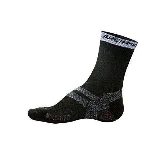 Arch Max Archfit Padel – Chaussettes de Sport Unisexe XL/45-48 Noir