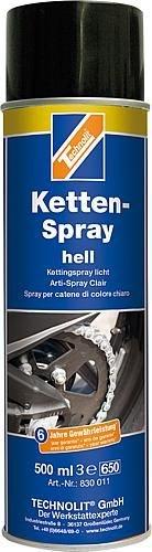 Ketten-Spray hell Kälte- und wärmebeständiges Schmiermittel