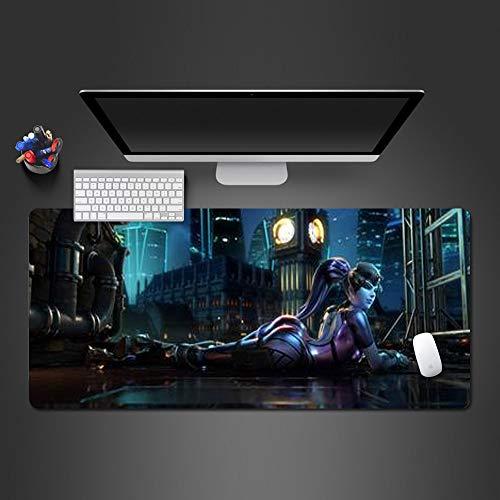 Anti -Rutsch-Pad waschbar Gummi-Spiel Computer-Tastatur Mauspad 800x300x2 - Pet-kiste-tisch Groß