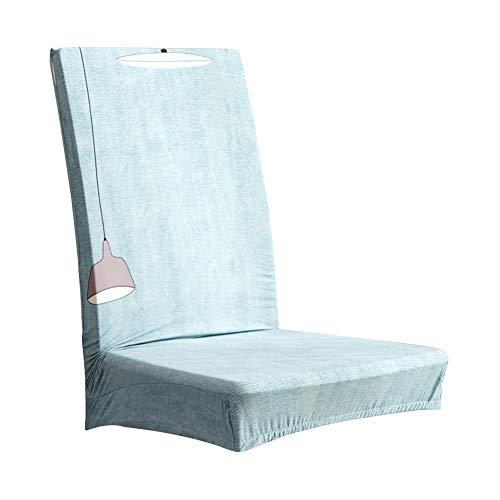 Wifehelper Wasserdicht staubdicht langlebig elastische Schonbezug Sitz Stuhlabdeckung für Wohnheim Schlafzimmer Wohnzimmer -