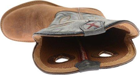 Twisted X Boots  Lite Cowboy Work, Bottes et bottines cowboy homme Multicolore - Shoulder Denim