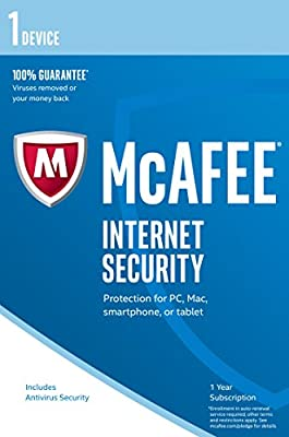 McAfee 2017 Internet Security (PC/Mac/Android)