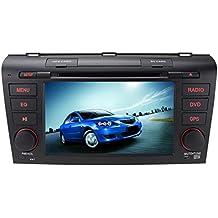 volsmart Quad Core Android 5.1.1coche navegación GPS para Mazda 32004–2009Capactive pantalla 1024x 600con Autoradio Reproductor de DVD unidad central estéreo Bluetooth Apoyo OBD2DAB + screenmirror