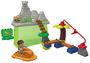 "Mega Bloks - 3012 - Jeu de construction - Baril Diego - ""Diego at Jaguar Mountain"""