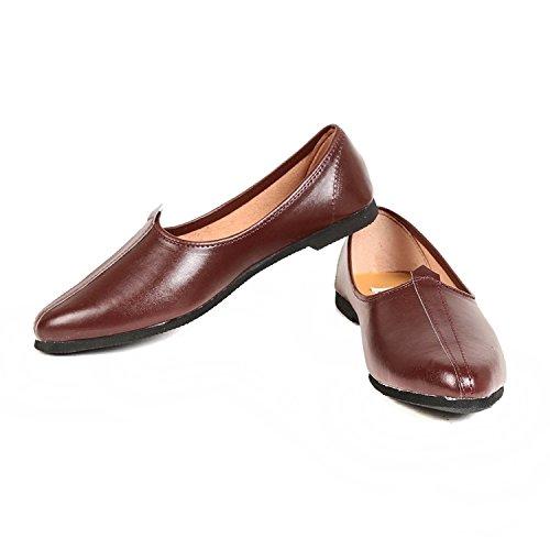 Rajwari Brown Leather Jalsa (9)