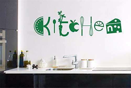 stickers muraux phrases pas cher Salle de cuisine assortie de fouet de fruits et légumes