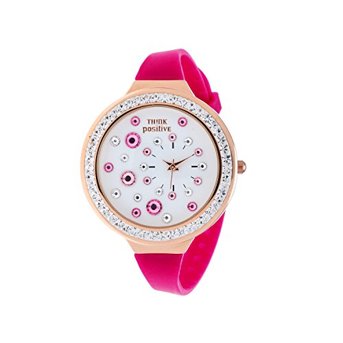 ladies-think-positiver-model-se-w91-rose-strap-of-silicone-color-wisteria