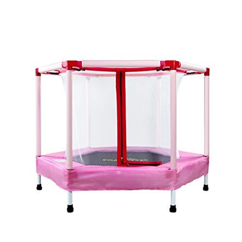 MLMHLMR Le Trampoline pour Enfants ne Se Plie Pas avec Les Filets de Protection Famille Trampoline d'intérieur au Printemps Trampoline (Color : C)