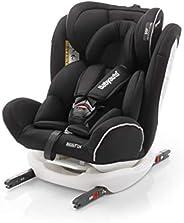 Babyauto NOE FIX 0123 Car Seat (Suitable for 0-12Years), White Isofix Base