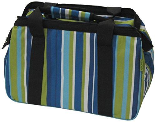 JanetBasket 18x 10x 12Zoll blau Streifen Eco Bag