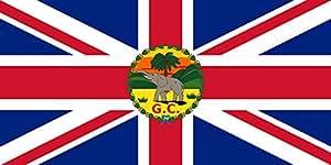 magFlags Flagge: Large Governor of the Gold Coast 1877-1957 | Governor of the British Gold Coast between 1877 and 6 March 1957 | A Brit Aranypart kormányzójának zászlaja 1