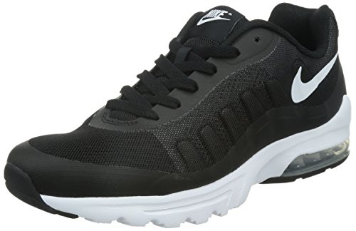 Nike Air Max Invigor, Chaussures de Running Compétition Homme, Schwarz, 41 EU Multicolore (Black / White)