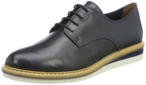 Tamaris Damen 23202 Oxfords, Blau, 40 EU