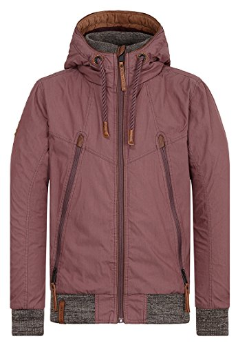 Naketano Male Jacket Old Boy Aubergini