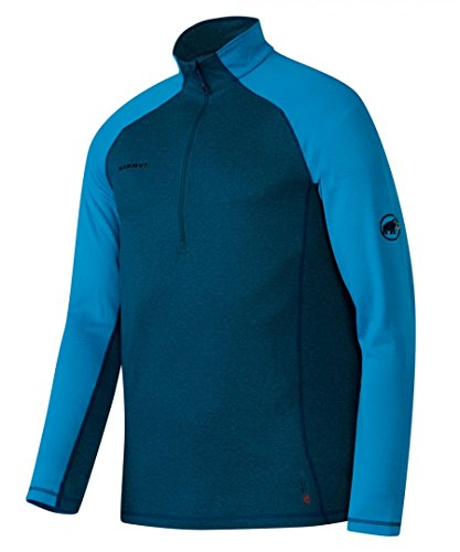 Mammut Trovat Pro Half Zip Longsleeeve Shirt Men - Pullover mit Wolle (Zip Wolle Pullover)