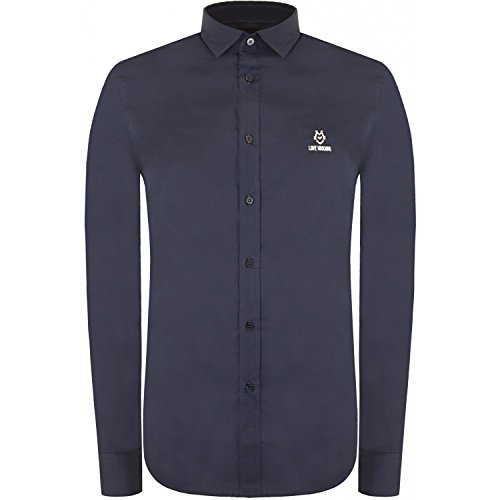love-moschino-camisa-casual-clasico-para-hombre-azul-azul-marino-x-large