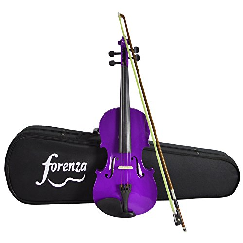 forenza-f1151apu-uno-series-full-size-violin-outfit-purple