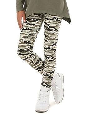 Camouflage Mädchen Leggings Leggins Kinder 116-158