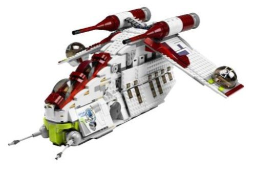 LEGO Star Wars 7676 - Republic Attack Gunship 1