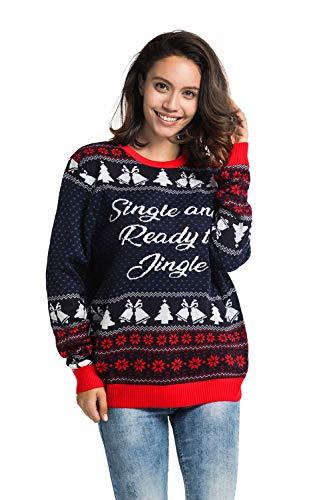 You Look Ugly Today Herren Weihnachtspullover Sweater Pullover Pulli Xmas Sweatshirt Renti