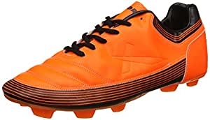 Vector X Chaser-II Football Shoes, UK 2 (Orange)