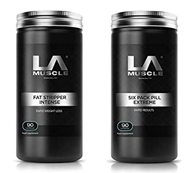 LA Muscle Fat Stripper Intense +Six Pack Pill Extreme