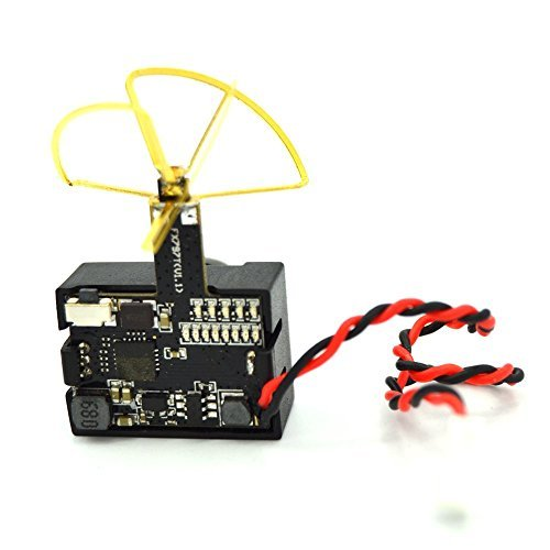 LHI FX797T 3-In-1 Super Mini 5.8G 40ch AV Video Transmitter TX 600TVL Mini Fpv Micro Camera Leaf Antenna Combo For QAV250 Quadcopter Multicopter - 6