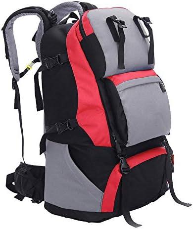 LIUSIYU 60L 60L 60L Outdoor Trekking Zaino Tattico Zaino Trekking Zaino Bocca Alpinismo Pesca Arrampicata Campeggio Zaino per Uomo Donna,rosso B07M69X35J Parent | Tecnologia moderna  | Eccezionale  | Bel design  d3ce30
