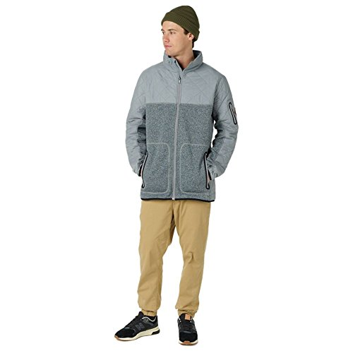 Burton Herren Pierce Fleece Hoodie Monument