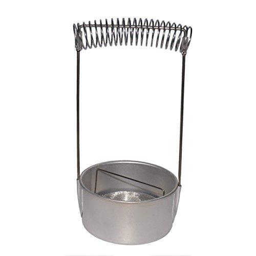 PICCOLINO Pinselständer - Pinselwascher aus Aluminium, Ø 12cm H 22cm