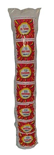 Aristea, Bicchieri Bianchi 80 ml, Pacco da 100