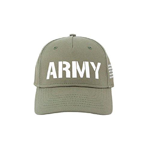 Alpha Industries Herren Snapback Cap Army grün Verstellbar