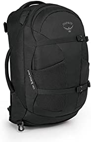 Osprey Men Farpoint 40 Hiking Travel Backpack - Volcanic Grey, Medium/Large