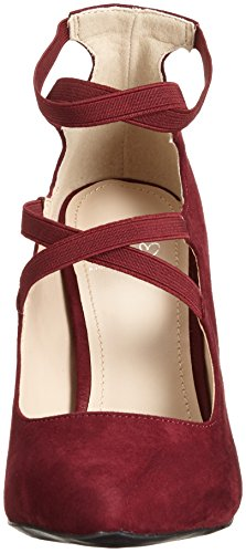 Another Pair of Shoes Paisleye1, Scarpe con Tacco Donna Rosso (Wine36)